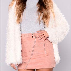Jackets & Blazers - Fuzzy White Jacket